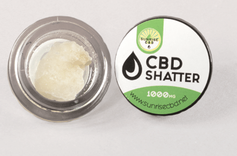 What is CBD Shatter?