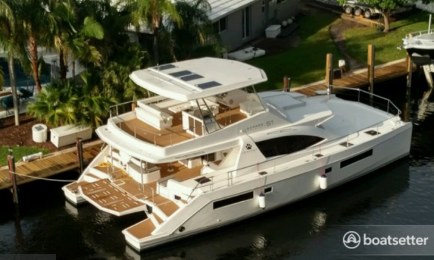 Orthodontist Chris Freeman DDS – Second Wind Yacht Review