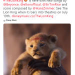 The Lion King Soundtrack Released!
