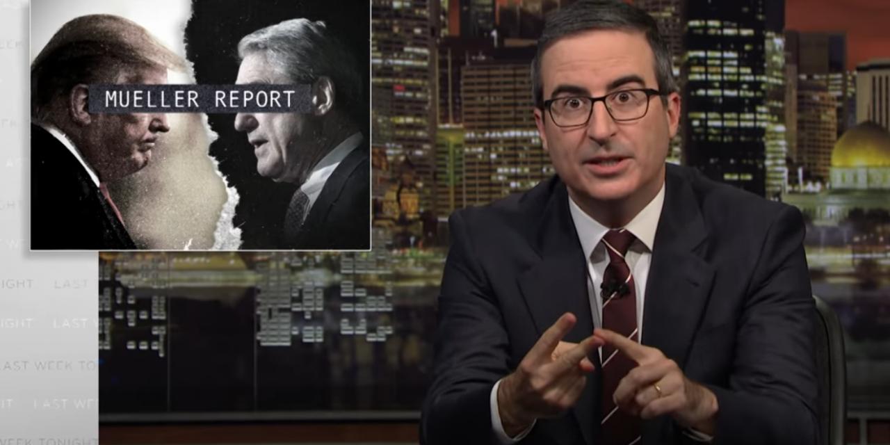 John Oliver – Mueller Report