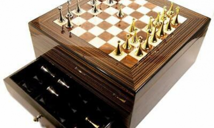 Maestro Chess Board Cigar Humidor