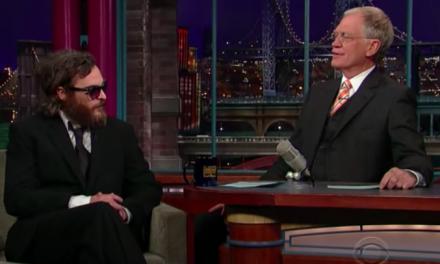 The Cringeworthy Letterman / Phoenix Interview