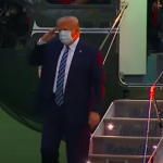 President Trump Comes Home From Walter Reed Hospital